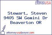 Stewart, Steven 9405 SW Gemini Dr Beaverton OR