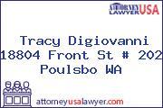Tracy Digiovanni 18804 Front St # 202 Poulsbo WA