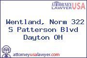 Wentland, Norm 322 S Patterson Blvd Dayton OH