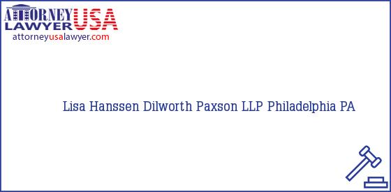 Telephone, Address and other contact data of Lisa Hanssen, Philadelphia, PA, USA