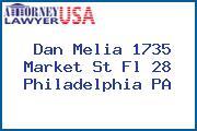Dan Melia 1735 Market St Fl 28 Philadelphia PA