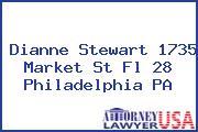 Dianne Stewart 1735 Market St Fl 28 Philadelphia PA