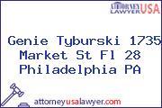 Genie Tyburski 1735 Market St Fl 28 Philadelphia PA