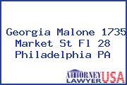 Georgia Malone 1735 Market St Fl 28 Philadelphia PA