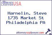 Harnelin, Steve 1735 Market St Philadelphia PA