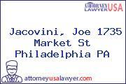 Jacovini, Joe 1735 Market St Philadelphia PA