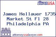 James Hellauer 1735 Market St Fl 28 Philadelphia PA