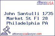 John Santulli 1735 Market St Fl 28 Philadelphia PA
