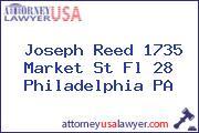 Joseph Reed 1735 Market St Fl 28 Philadelphia PA