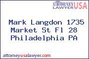 Mark Langdon 1735 Market St Fl 28 Philadelphia PA