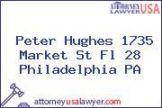 Peter Hughes 1735 Market St Fl 28 Philadelphia PA