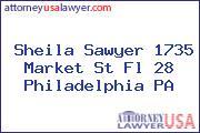 Sheila Sawyer 1735 Market St Fl 28 Philadelphia PA