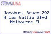 Jacobus, Bruce 707 W Eau Gallie Blvd Melbourne FL