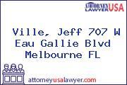 Ville, Jeff 707 W Eau Gallie Blvd Melbourne FL