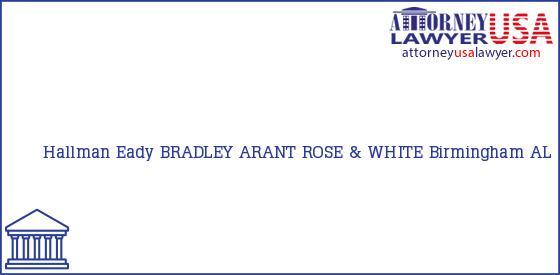 Telephone, Address and other contact data of Hallman Eady, Birmingham, AL, USA