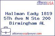 Hallman Eady 1819 5Th Ave N Ste 200 Birmingham AL