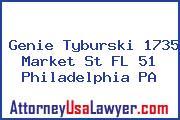 Genie Tyburski 1735 Market St FL 51 Philadelphia PA
