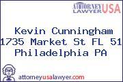 Kevin Cunningham 1735 Market St FL 51 Philadelphia PA