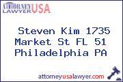 Steven Kim 1735 Market St FL 51 Philadelphia PA